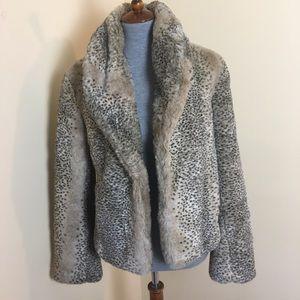 Mossimo Supply Co. Faux fur Jacket Size = Medium